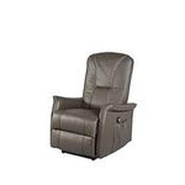 Fauteuil relax simili cuir