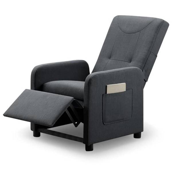 Fauteuil relax marron