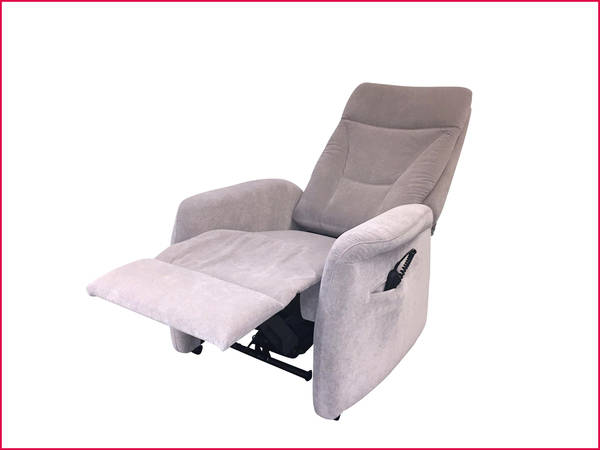 Fauteuil relax cuir buffle