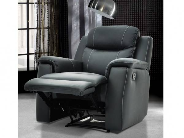 Fauteuil relax rotin