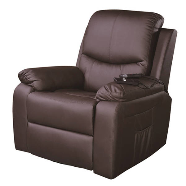 Fauteuil cuir design inclinable relax
